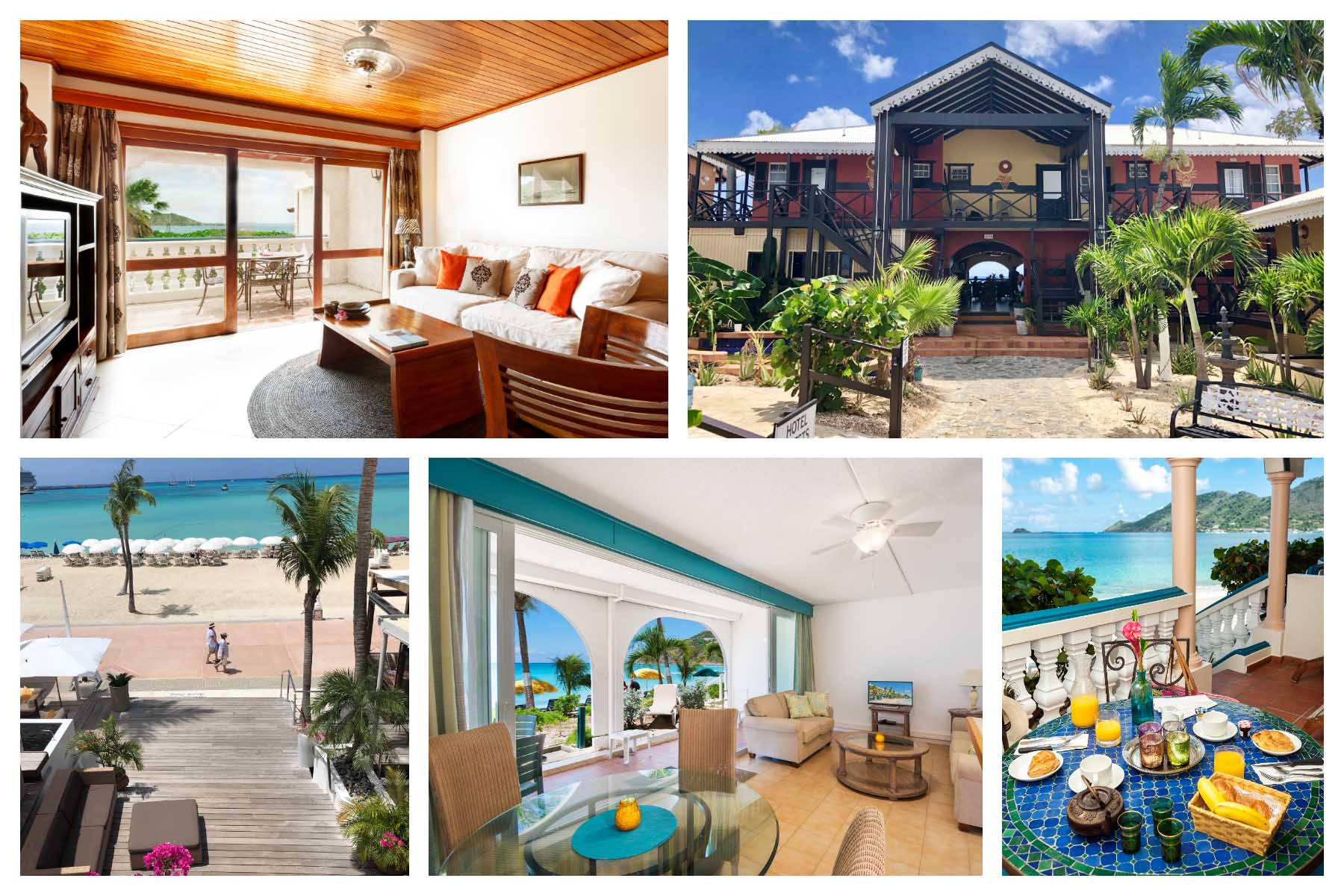 Best accommodations - Lodging on St. Martin / St.Maarten
