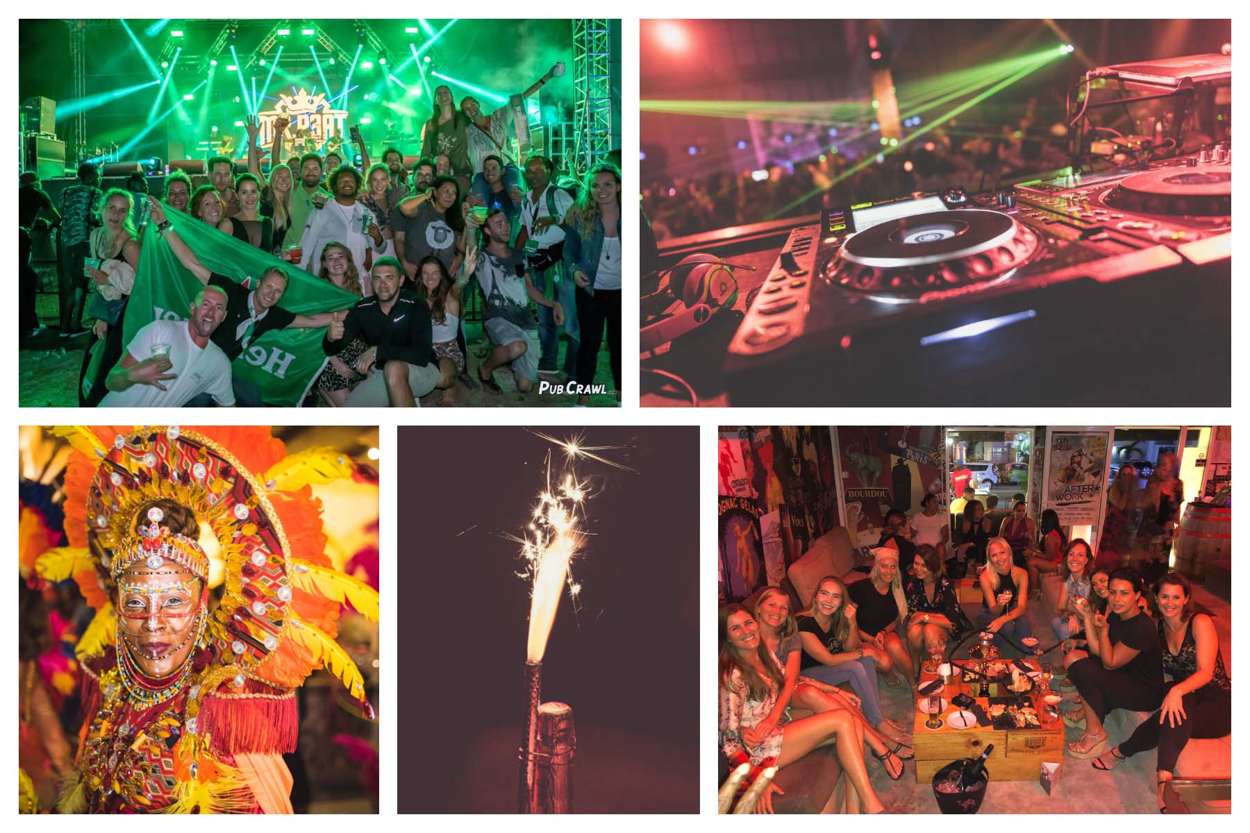Party and Nightlife St. Maarten - St. Martin 2019 - 2020