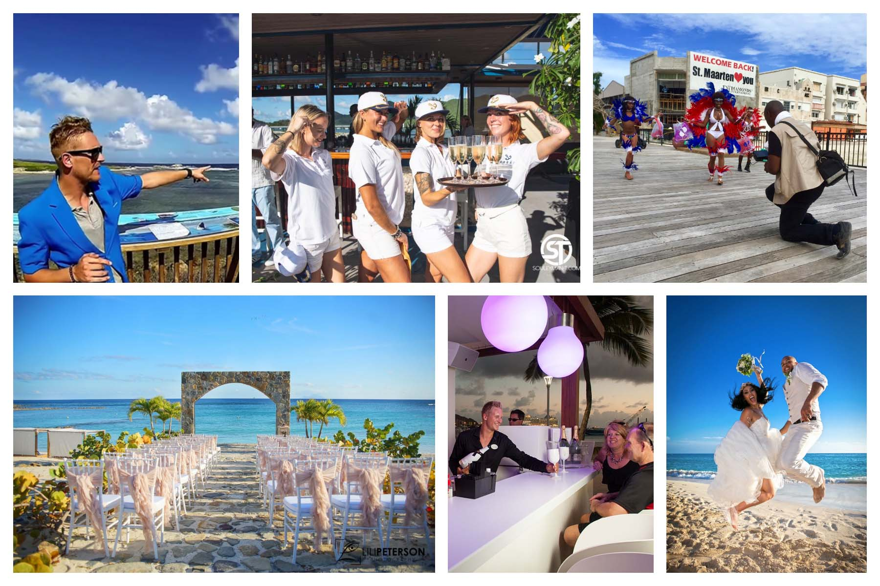Private services St. Maarten/St. Martin-Chef-Bartender-Waiter-Chauffeur-Massage-2019/2020