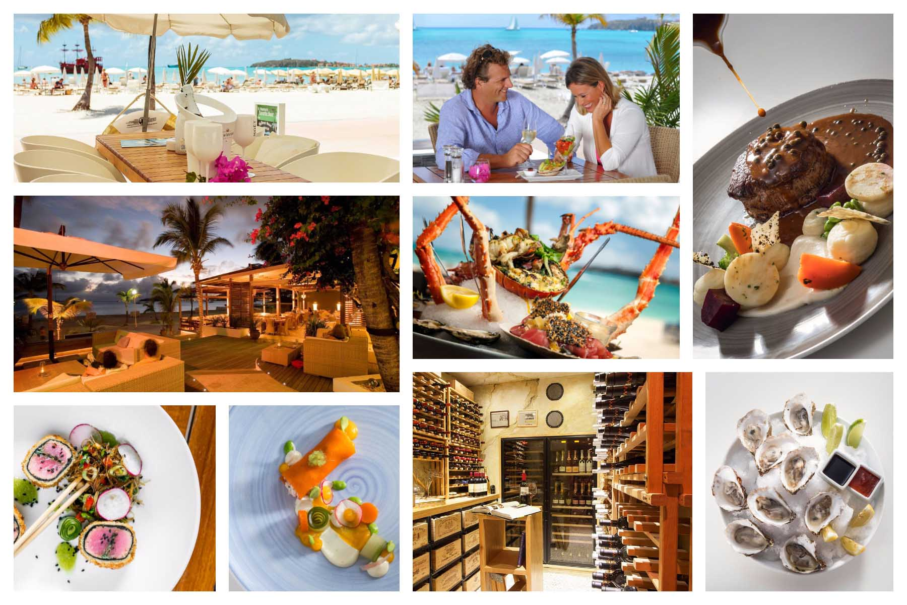 Ocean Lounge Bar and Restaurant Day & Night - at Holland House Beach Hotel