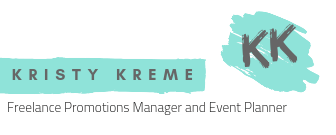 Kristy Kreme Freelance Promotions Manager - Event Manager
