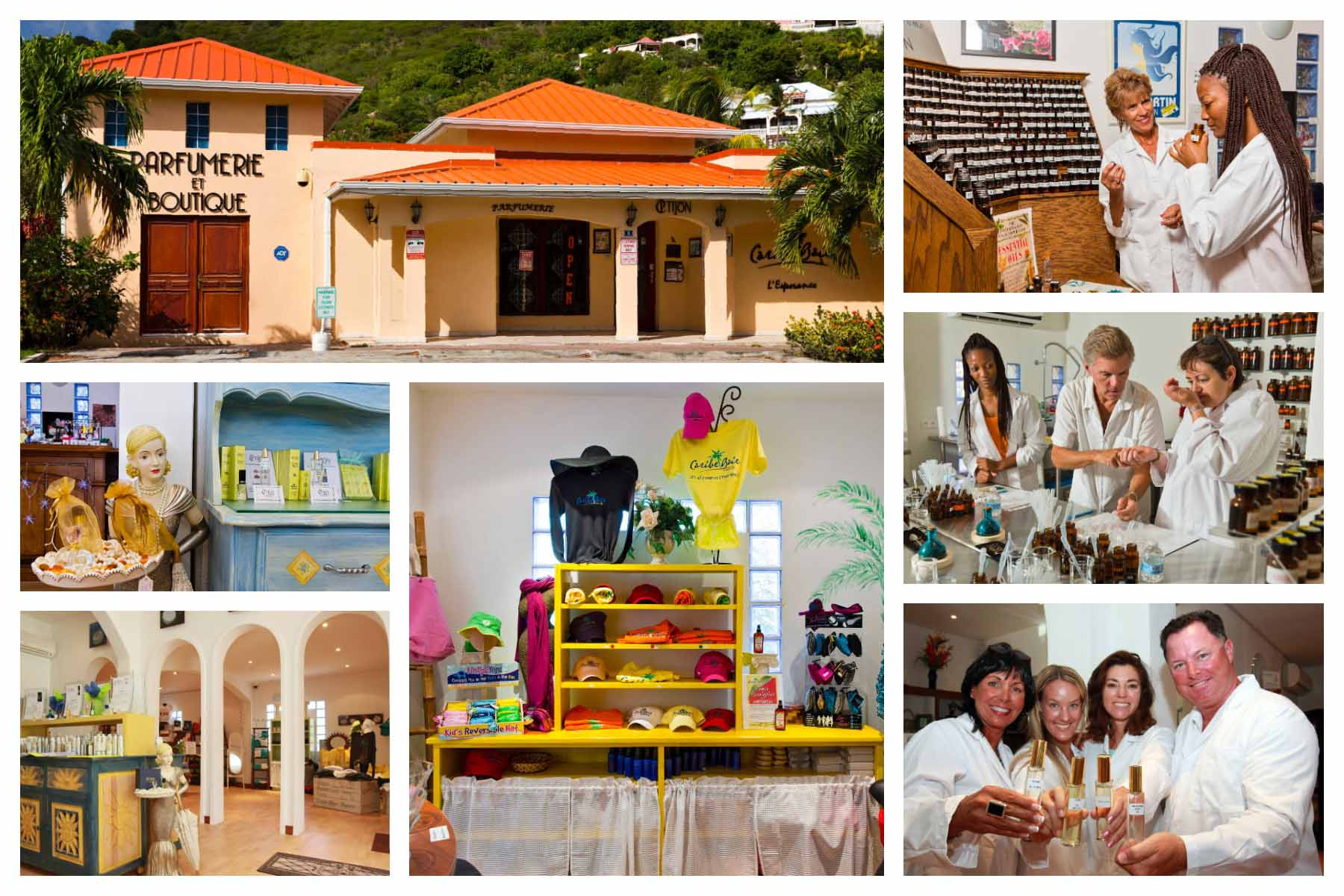 Tijon Perfumes - St. Martin / St. Maarten - Grand Case - Make your own perfume, cologne, scent, perfume making classes. Boutique store, souvernirs, perfumes, jewelry.
